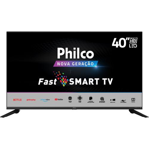 Imagem 1 de 6 de Smart Tv Led 40  Philco Ptv40g70n5cblf Full Hd Com Wi-fi