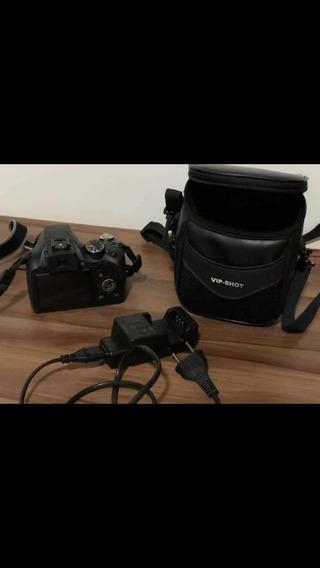 Máquina Fotográfica Semiprofissional Marca Fujifilm