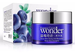 Crema Facial Blueberry Bioaqua Antiarrugas Hidratacion Full