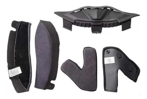 Repuesto Hawk Rs5/ Vector Kit Interior Casco Moto Jm Motos