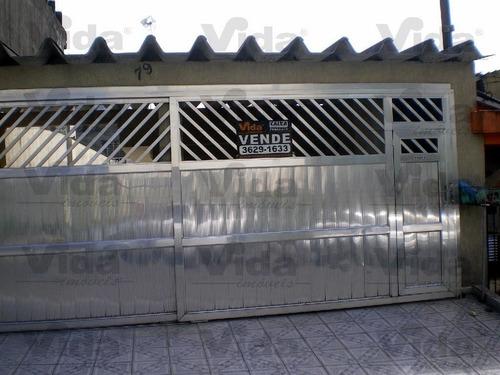 Casa Térrea À Venda Em Vila Silviania  -  Carapicuíba - 27622
