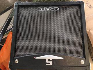 Amplificador Guitarra Eléctrica Crate Tubos 5w - Bigbull