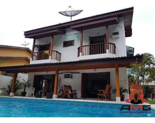 Imagem 1 de 30 de Casa Com 5 Dormitórios À Venda, 339 M² Por R$ 4.100.000,00 - Riviera - Módulo 21 - Bertioga/sp - Ca1019