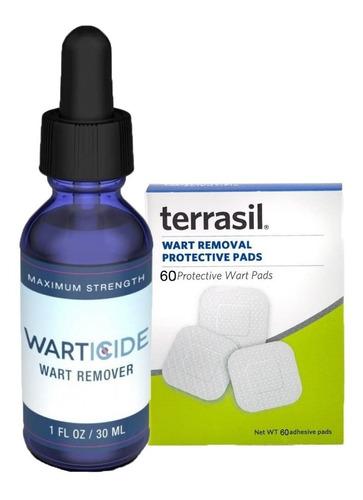 Warticide + Terrasil Remueve Verrugas Genitales