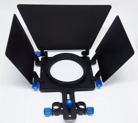 Matte Box Para Dslr - Montagem Em Estrutura Tubular