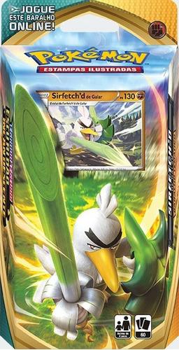 Pokémon Deck Espada Escudo 3 Sirfetch'd Galar Cartas Baralho