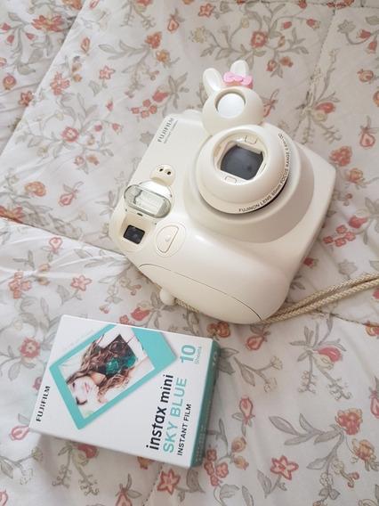 Instax Mini 7s Branco + Filme 10 Fotos