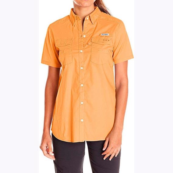 Camisa Columbia Mujer Deportiva Blusa Outdoor Envío Gratis
