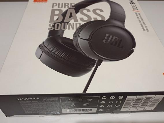 Headphone Jbl-tune 500 Com Fio - Open Box (usado)