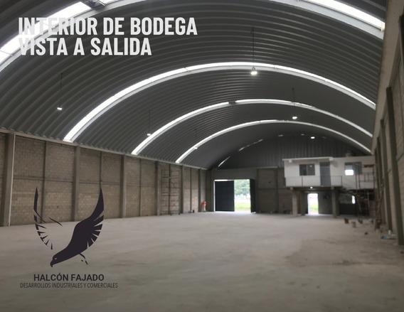 Bodega En Renta 1,000m Por Av.tollocan Y Av. Aeropuerto