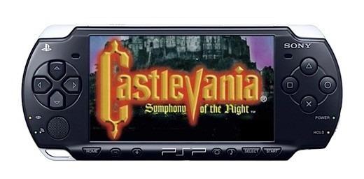 Castlevania Symphony Of The Night Traduzido - Psp Patch