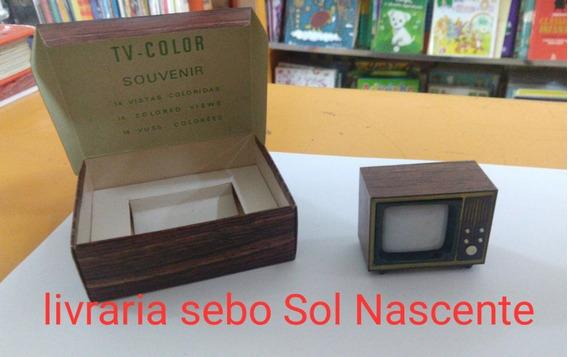 Monóculo Mini Tv Color Souvenir Curitiba 14 Vistas Coloridas