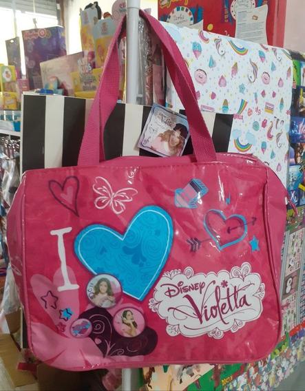 Bolso Violetta Original Disney Liquido