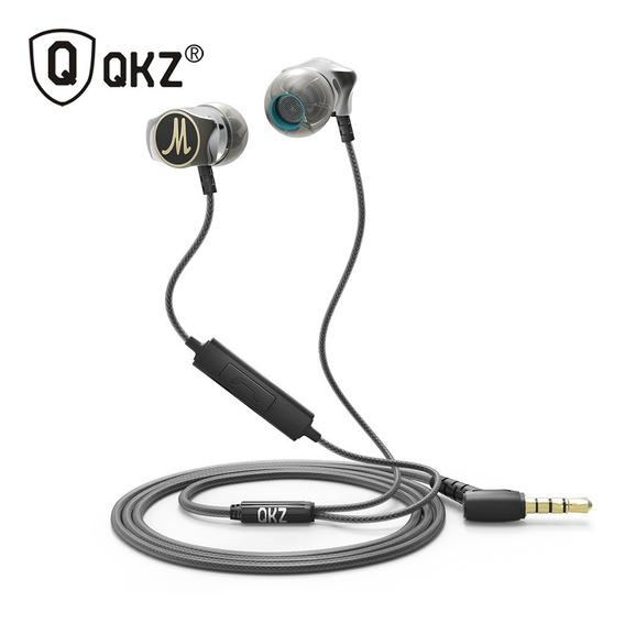 Fone De Ouvido Estéreo Liga De Zinco Com Microfone