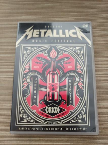 Dvd Metallica Orion Music Festival