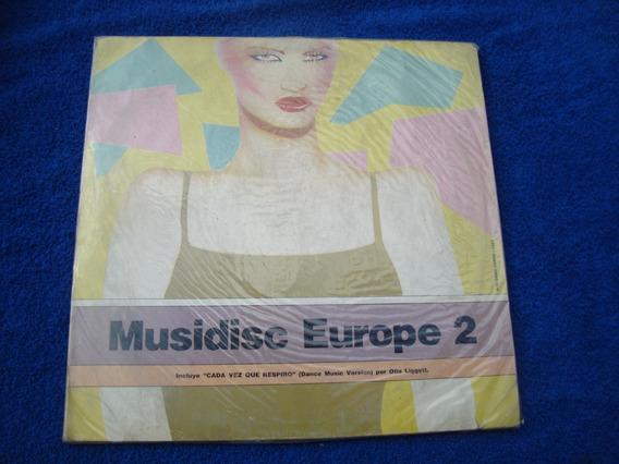 Musicdisc Europe 2 Vinilo Compilado 1983