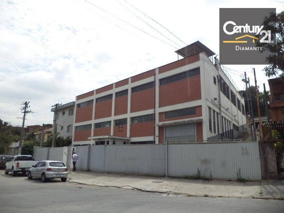 Galpão Comercial Para Venda E Locação, Ayrosa, Osasco - Ga0060. - Ga0060