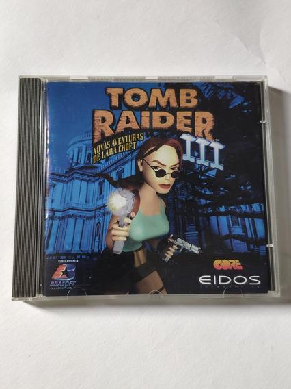 Jogos Tomb Raider 1 Gold, 2 E 3 Para Pc Mídia Física