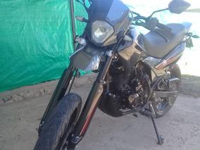 Motomel Motard 200 Negra