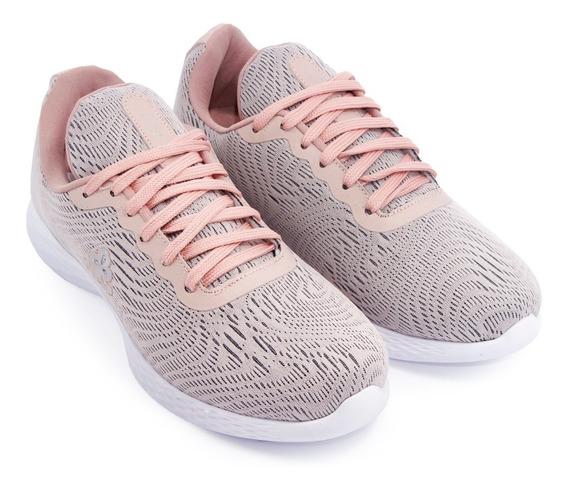 Zapatilla Liviana Mujer Sneaker Urbana Textil Citadina