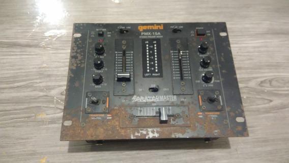 Mixer Gemini Modelo Pmx-15a ( Leia O Anuncio )