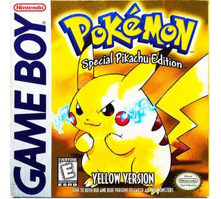 Pokemon Yellow Original - Nintendo Gb Gbc & Gba