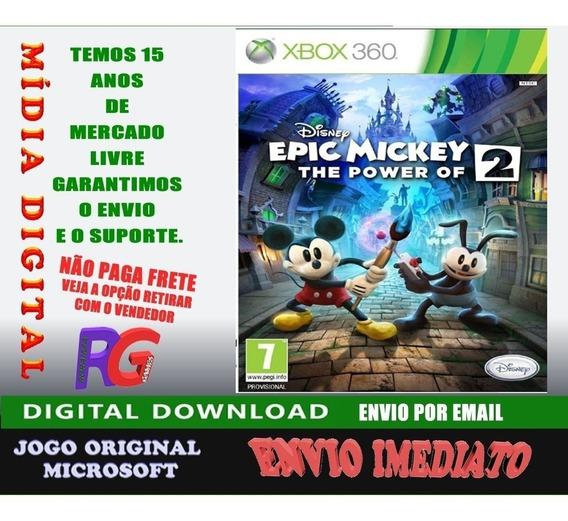 Epic Mickey 2 1 Jogos Brinde Midia Digital Roraima Games