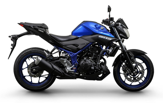 Yamaha Mt 03 Abs 2020 Azul 0km