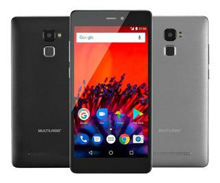 Smartphone Multilaser Ms60f 5,5 1gb Ram Preto/prata - P9055