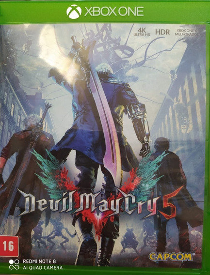 Devil May Cry 5 Português Xbox One Usado Envio Imediato