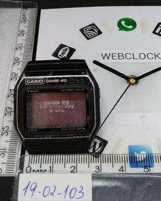 Caixa Casio T02103 Game 40 Gm40 Sucata Webclock