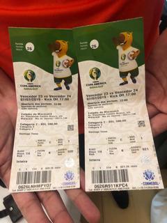 Vendo 2 Entrada Final Copa América 2019
