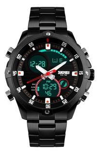 Reloj Deportivo Sumergible 30m Luz Cronometro Skmei 1146