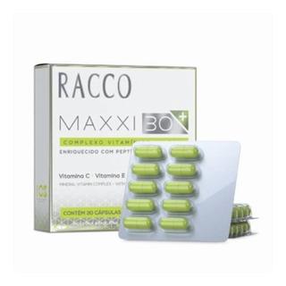 Maxxi 30 + Racco C/ Cápsula Colágeno, Biotina E Silício