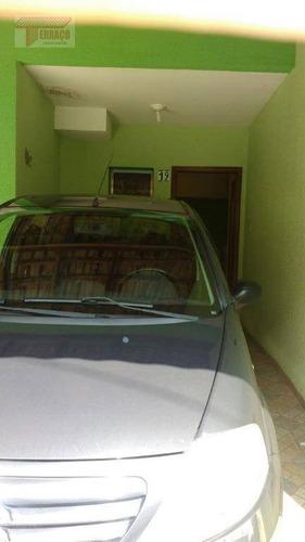 Sobrado Com 2 Dormitórios À Venda, 70 M² Por R$ 250.000,00 - Jardim Vila Rica - Santo André/sp - So0899