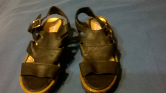 Sandalias Negras Nº 32