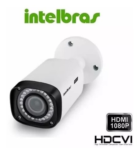 Câmera Intelbras Ir 40m Vhd 5040 Vf Ger2 2,7-12mm Full
