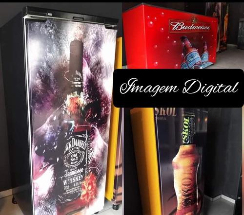 Envelopamento Vinil Impressão Digital