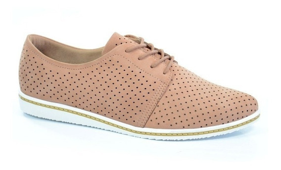 Sapato Oxford Usaflex Velour Base - X0901