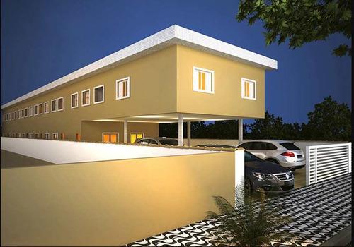 Imagem 1 de 1 de Apartamento Com 2 Dorms, Parque São Vicente, São Vicente - R$ 220.000,00, 60m² - Codigo: 320 - V320