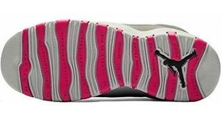 Air Jordan 10 Zapatillas Retro Grandes Kidsø Humo Gris Oscu
