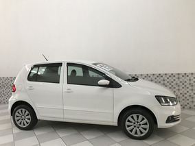 Vw Fox Bluemotion 1.0 12v Flex 2015 Branco Completo Ún Dono