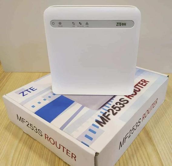 Router Modem Multibam Zte Mf253s Wifi Digitel 4g(45vrds)