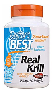 Dr Best Real Krill Con Omega 3 Comp 350 Mg