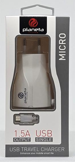 Carregador Planeta Telecom Mod 151 Cor Prata