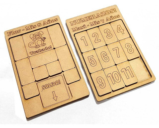 35 Juegos Ingenio Trabado Números Fibrofacil Personalizado