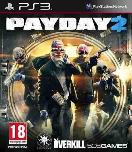 Payday 2 Pay Day 2 - Jogos Ps3 Playstation 3