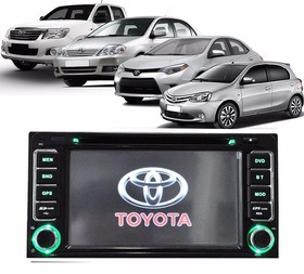 Kit Central Multimidia Toyota Hilux Corolla Etios Gps