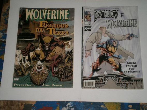 Wolverine Series Especiais - Antigas E Raras
