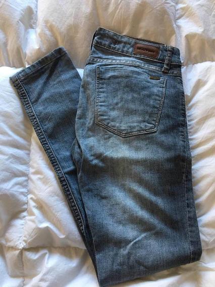 Jeans Chupin Elastizado Talle 25 Materia